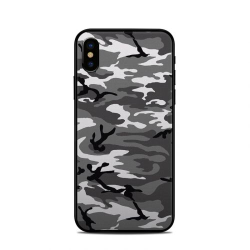 Urban Camo iPhone X Skin