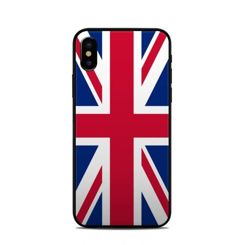 Union Jack iPhone X Skin