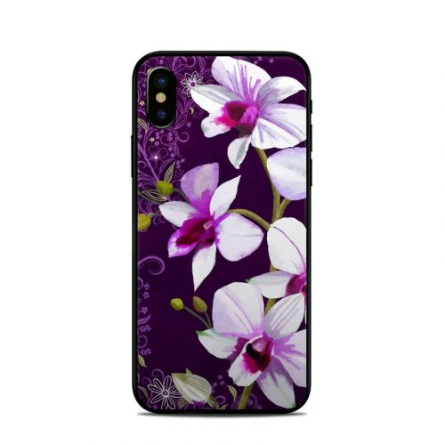 Violet Worlds iPhone X Skin