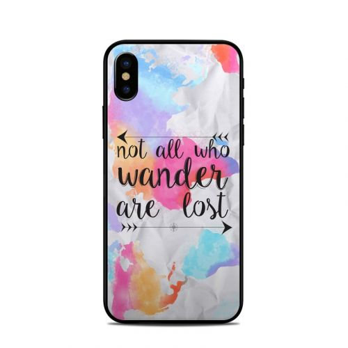 Wander iPhone XS Skin