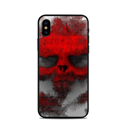 War Light iPhone X Skin