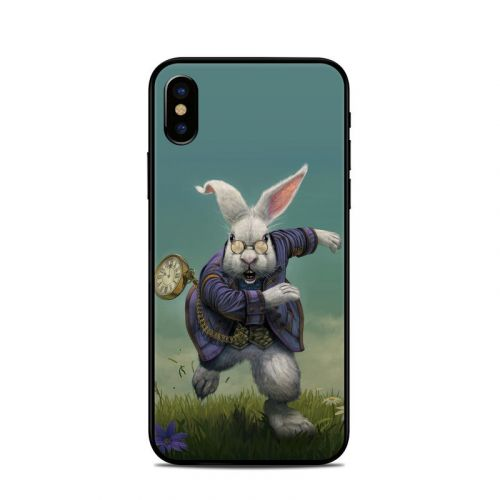 White Rabbit iPhone X Skin
