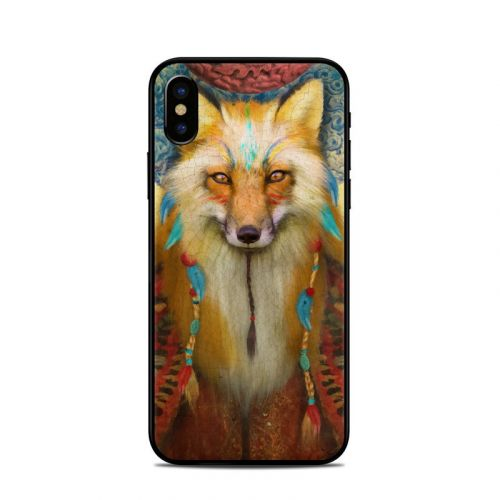 Wise Fox iPhone XS Skin