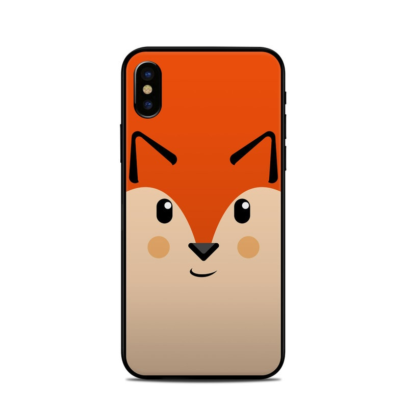 iPhone XS Skin design of Cartoon, Animated cartoon, Nose, Snout, Illustration, Whiskers, Clip art, Hamster, Animation, Art with black, red, yellow, orange colors