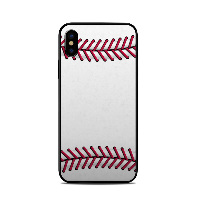 Baseball iPhone X Skin