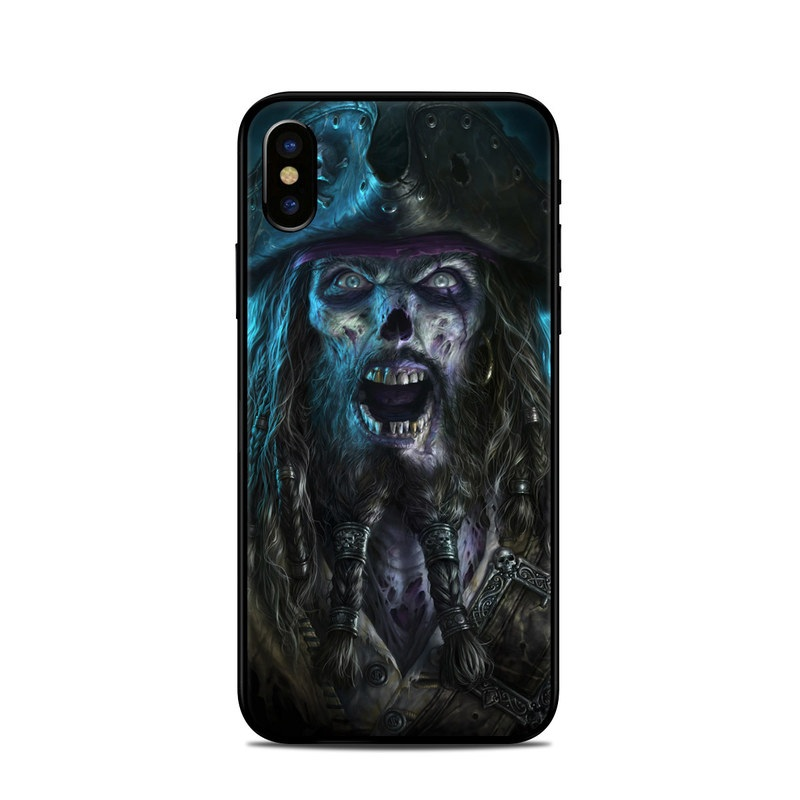 Captain Grimbeard iPhone X Skin