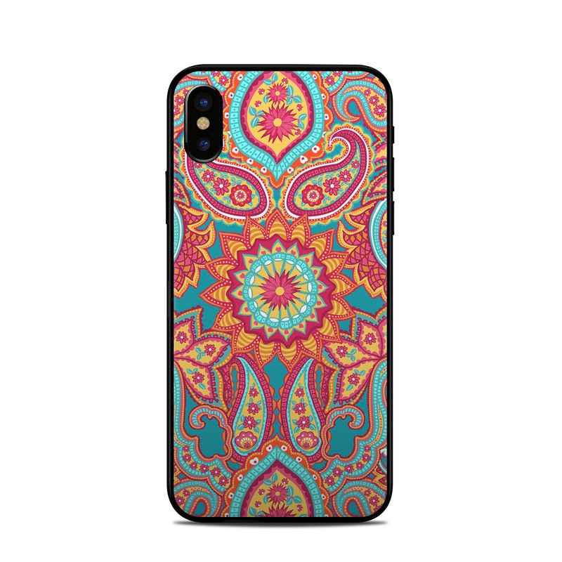 Carnival Paisley iPhone X Skin