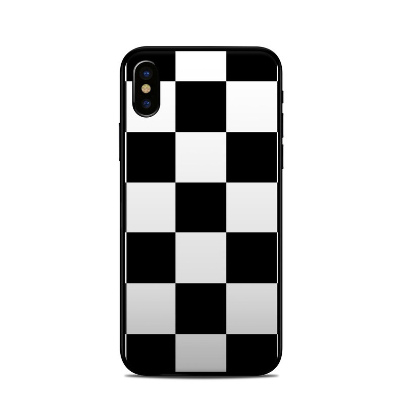 Checkers iPhone XS Skin