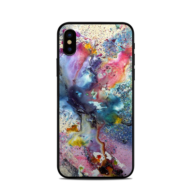 Cosmic Flower iPhone X Skin