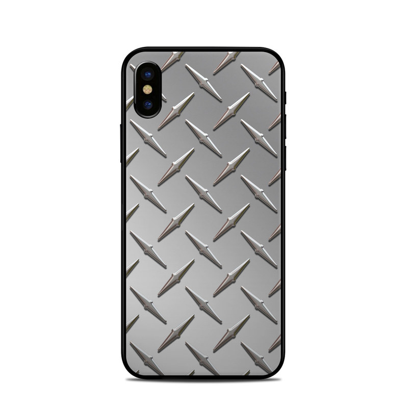 Diamond Plate iPhone XS Skin