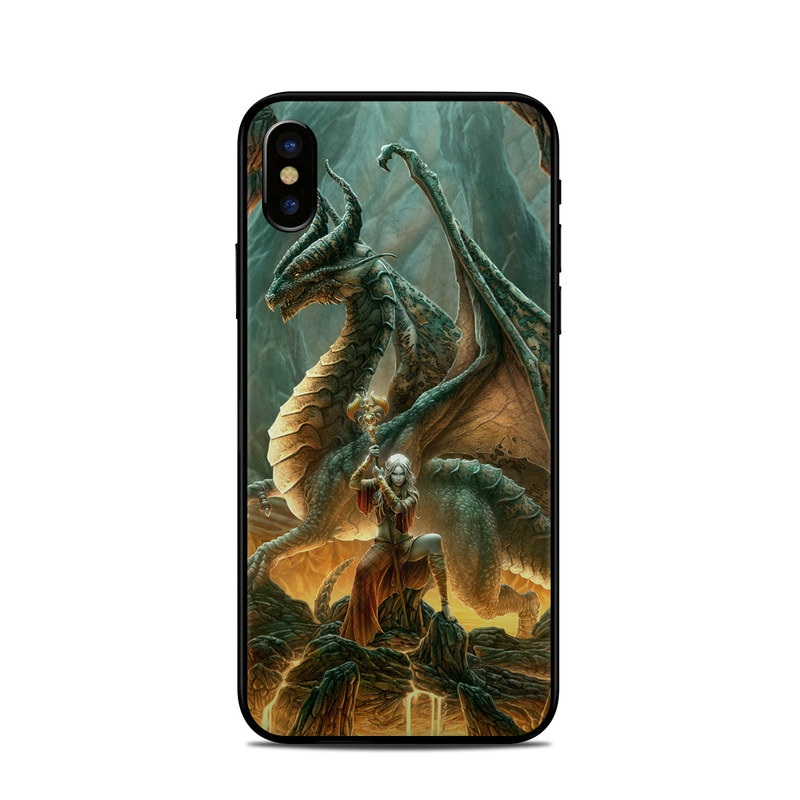 Dragon Mage iPhone X Skin