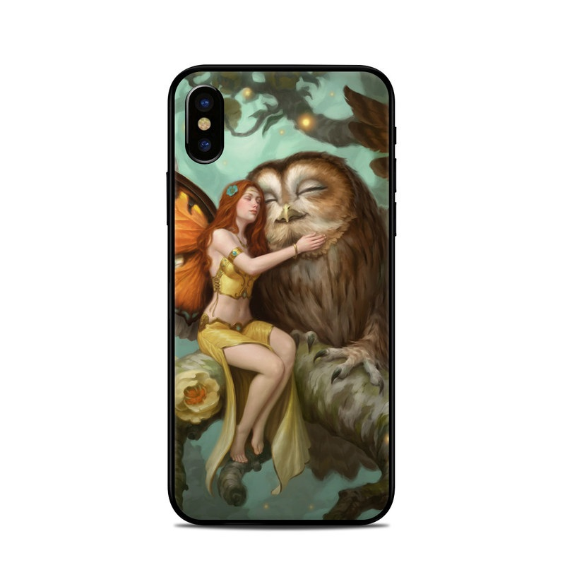 Fairy and Owl iPhone X Skin