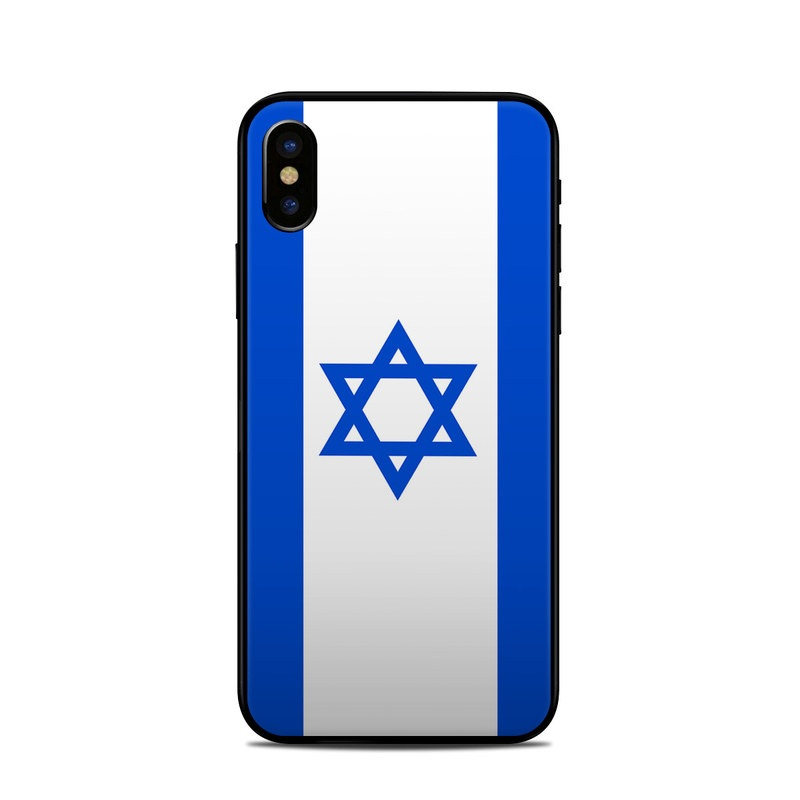 Israel Flag iPhone X Skin