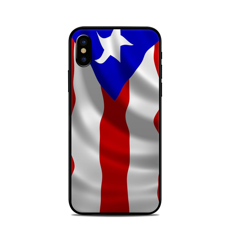Puerto Rican Flag iPhone X Skin