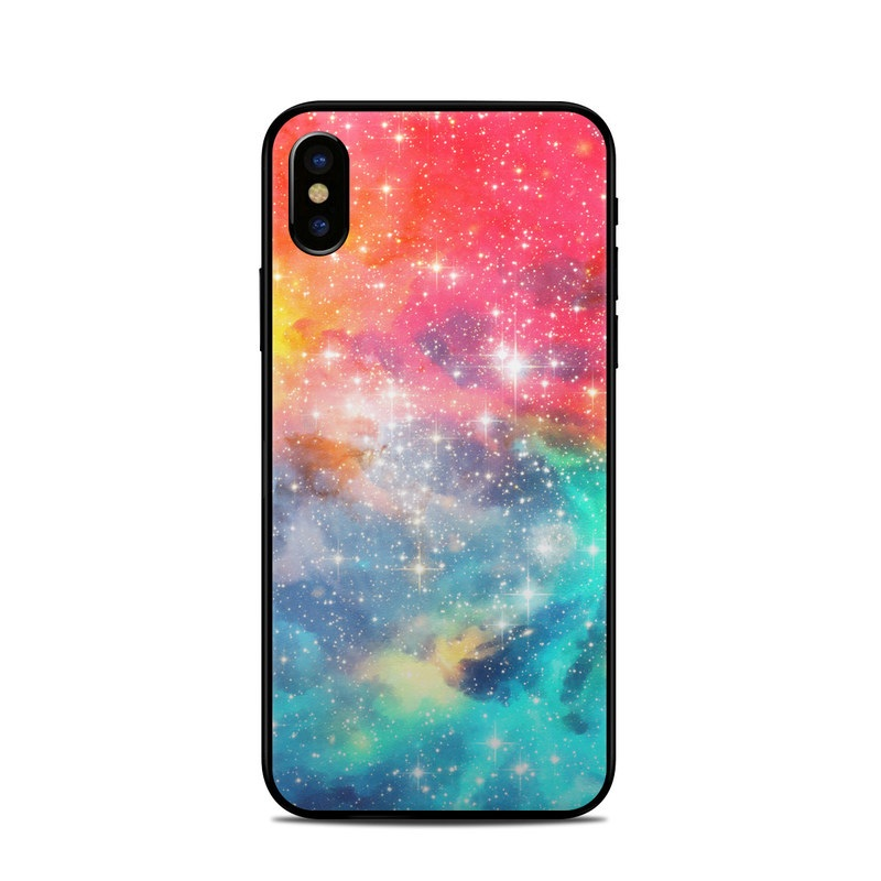 Galactic iPhone X Skin