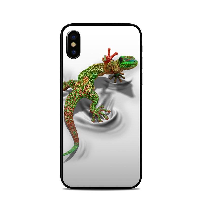 Gecko iPhone XS Skin