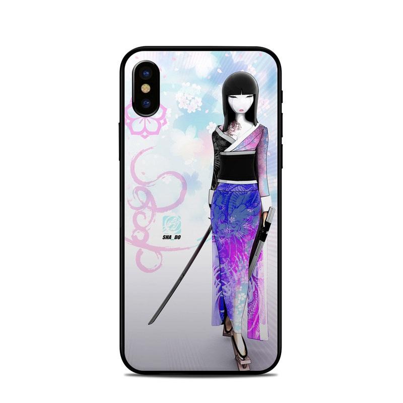 iPhone XS Skin design of Clothing, Fashion illustration, Fashion model, Pink, Fashion, Purple, Fashion design, Dress, Barbie, Illustration with white, pink, purple, black, blue colors
