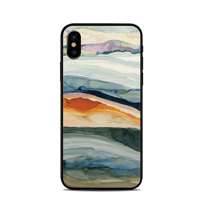 Layered Earth iPhone XS Skin