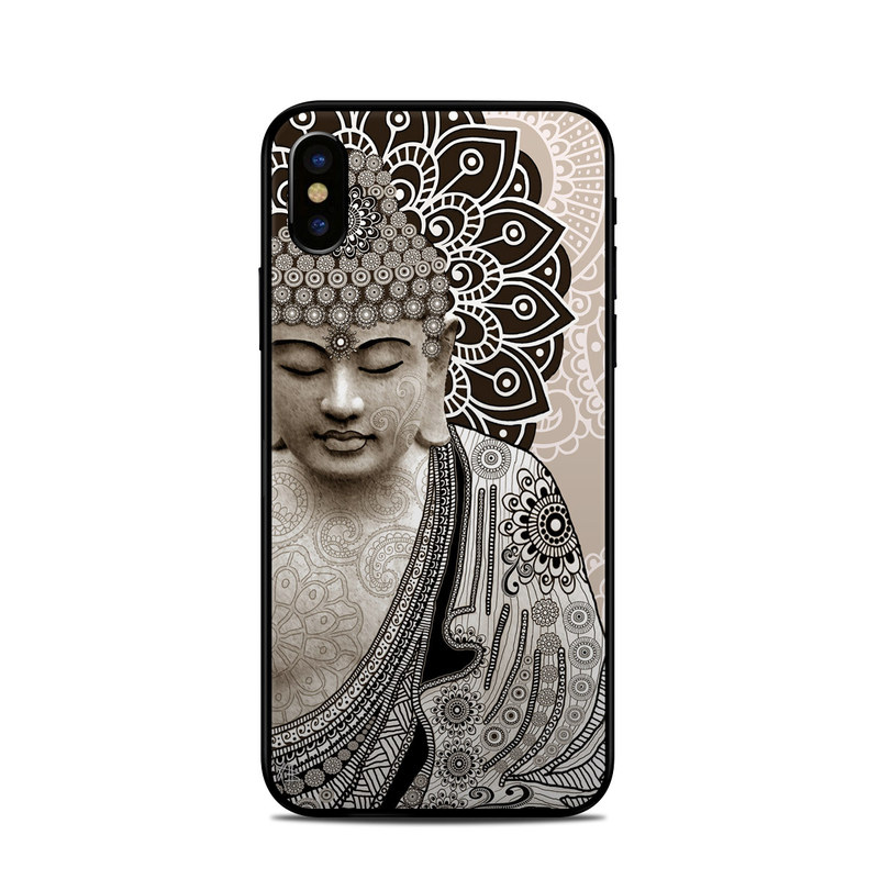 Meditation Mehndi iPhone X Skin