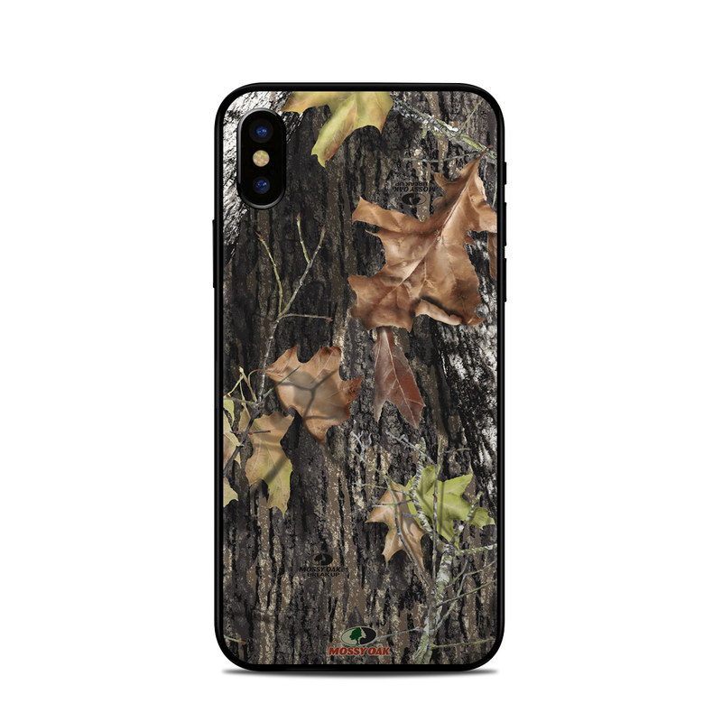 iPhone XS Skin design of Leaf, Tree, Plant, Adaptation, Camouflage, Branch, Wildlife, Trunk, Root with black, gray, green, red colors