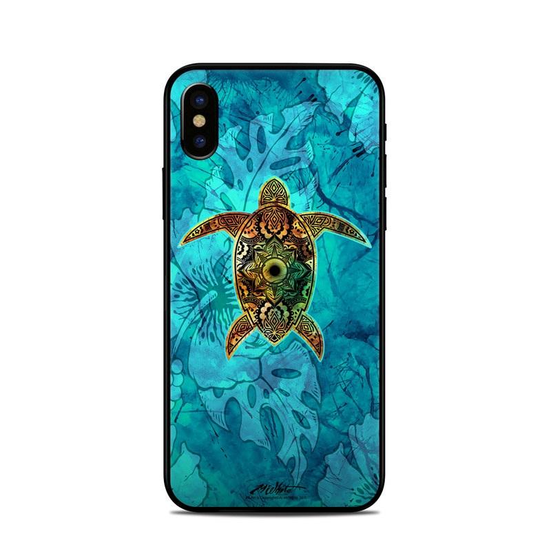 Sacred Honu iPhone XS Skin