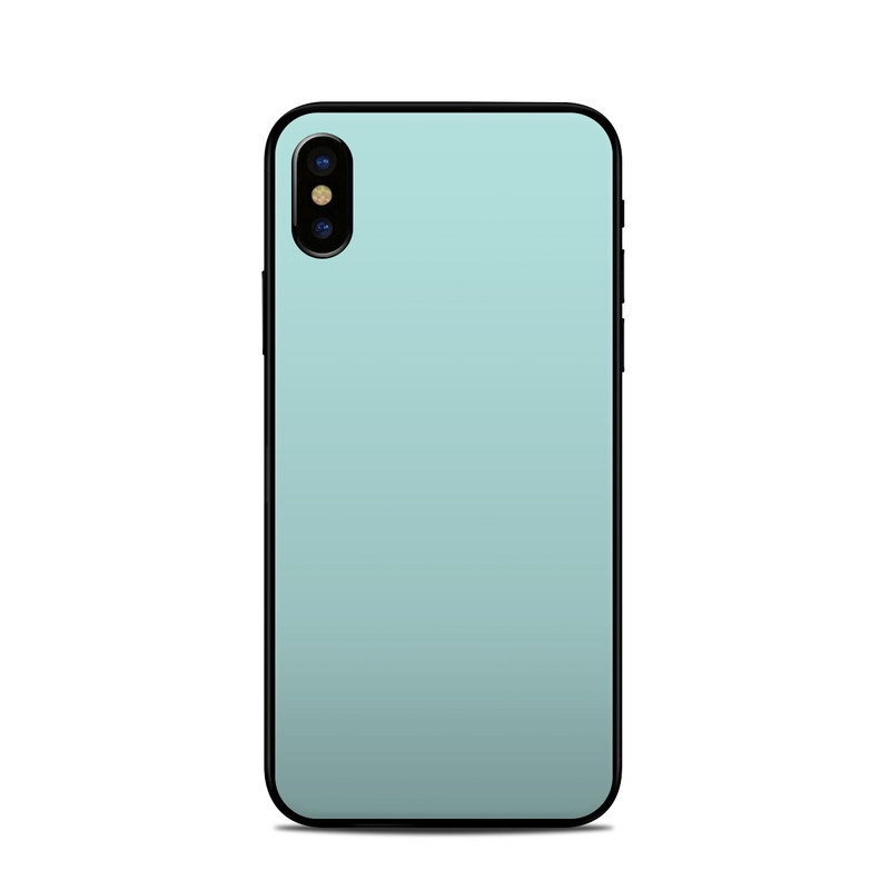 Solid State Mint iPhone X Skin