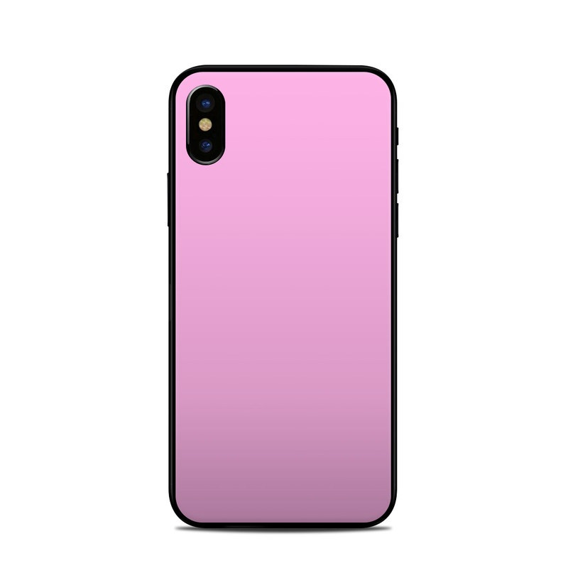 Solid State Pink iPhone XS Skin