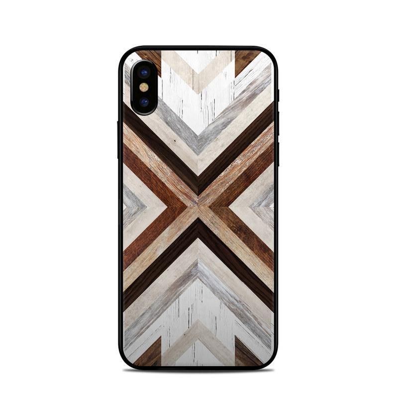 Timber iPhone X Skin