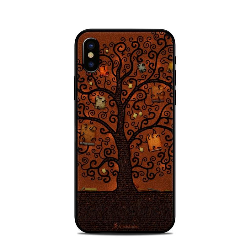 Tree Of Books iPhone X Skin