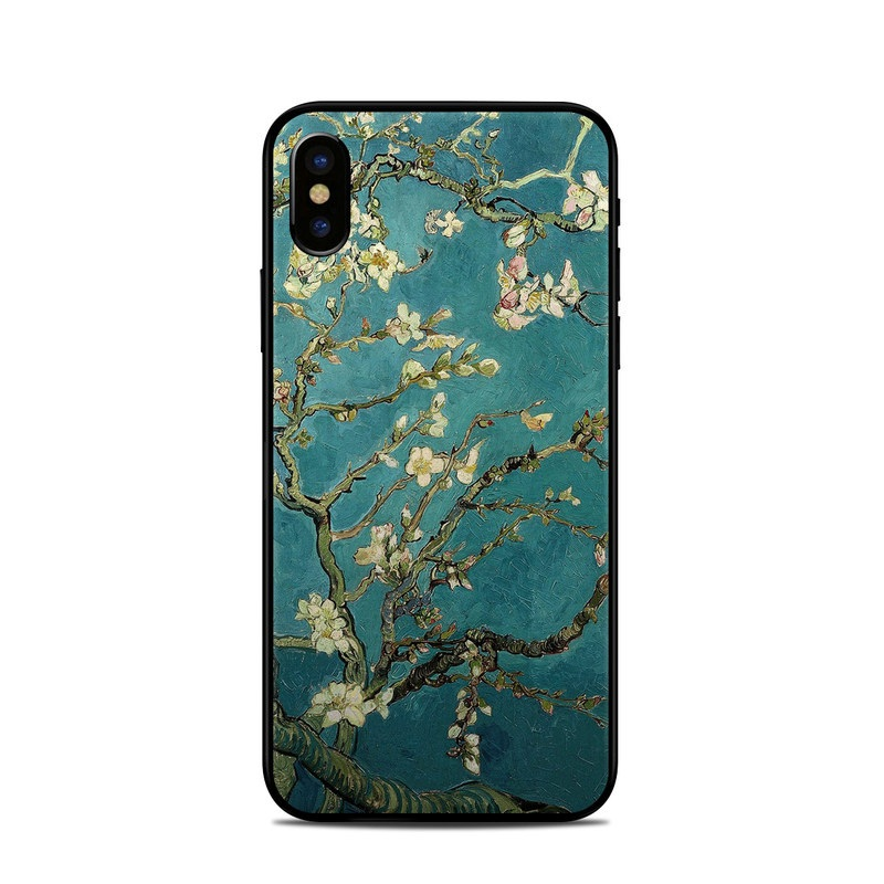 Blossoming Almond Tree iPhone X Skin