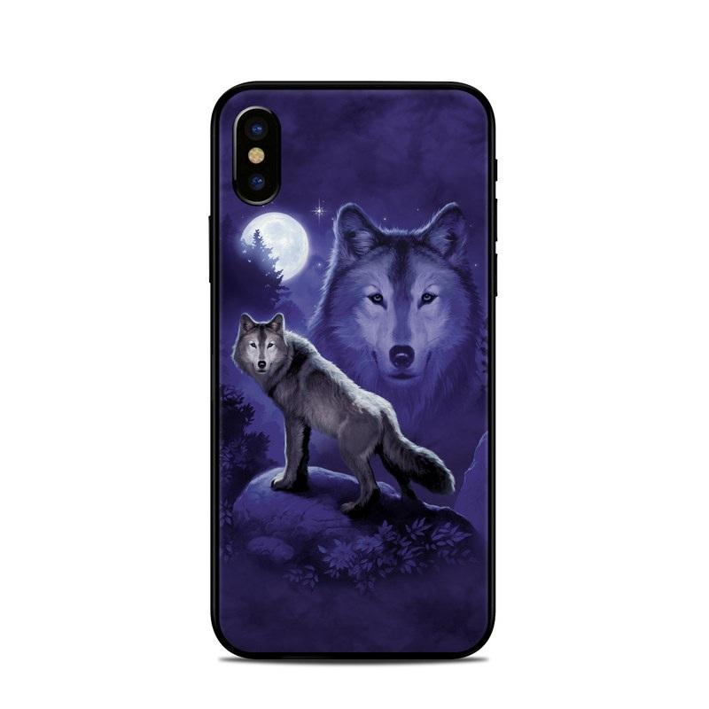 Wolf iPhone XS Skin