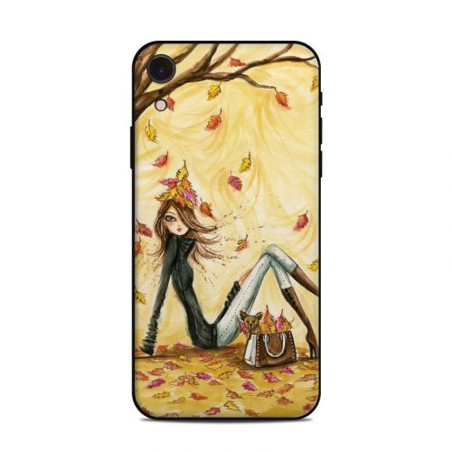 Autumn Leaves iPhone XR Skin