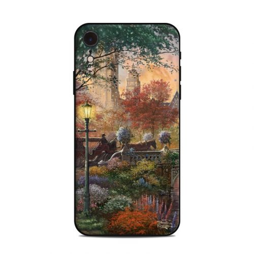 Autumn in New York iPhone XR Skin