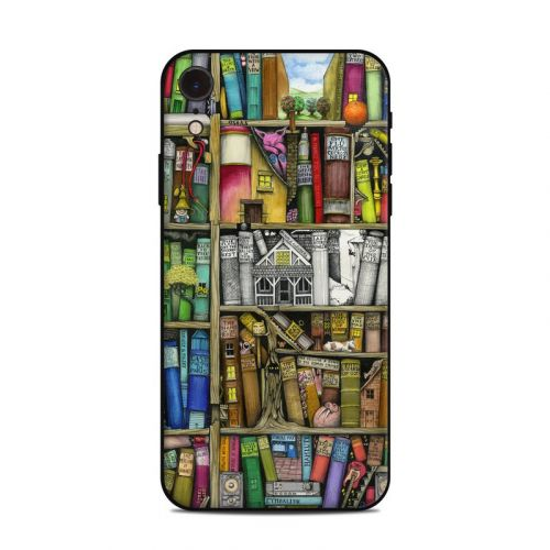 Bookshelf iPhone XR Skin