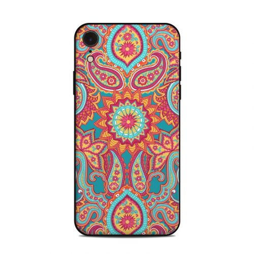Carnival Paisley iPhone XR Skin