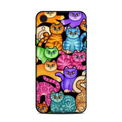 Colorful Kittens iPhone XR Skin
