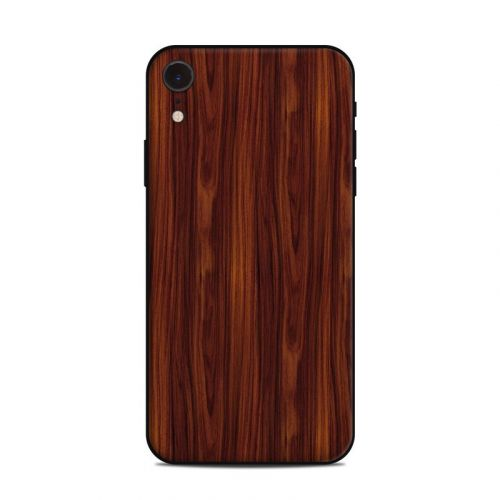 Dark Rosewood iPhone XR Skin