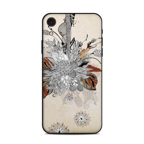 Fall Floral iPhone XR Skin