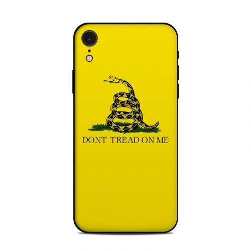 Gadsden Flag iPhone XR Skin