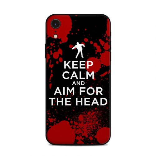 Zombie iPhone XR Skin