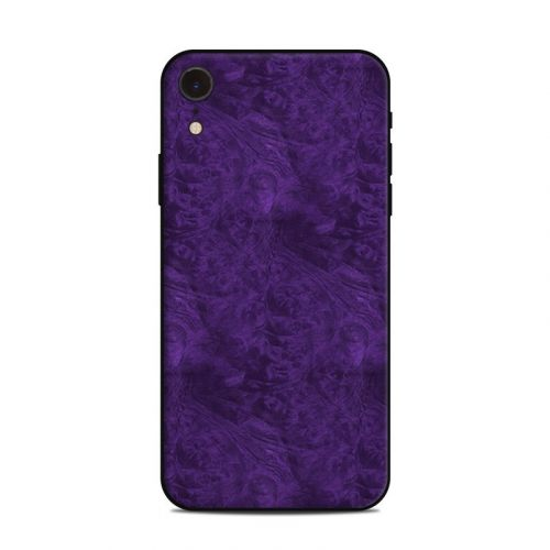 Purple Lacquer iPhone XR Skin