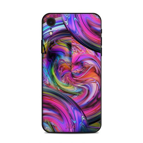 Marbles iPhone XR Skin