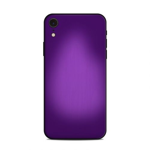 Purple Burst iPhone XR Skin