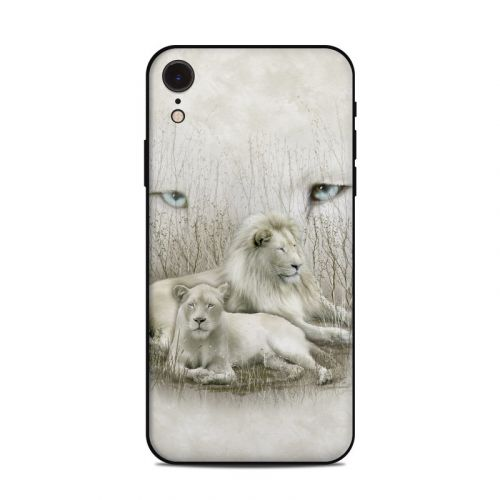 White Lion iPhone XR Skin