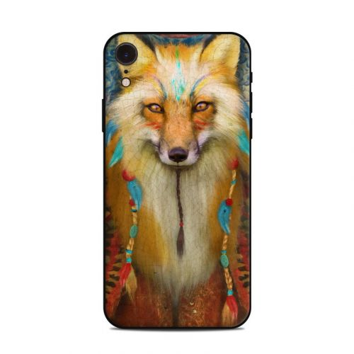 Wise Fox iPhone XR Skin