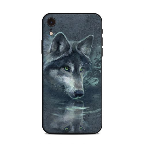 Wolf Reflection iPhone XR Skin