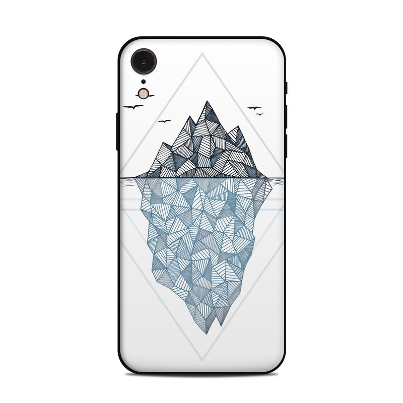 Iceberg iPhone XR Skin