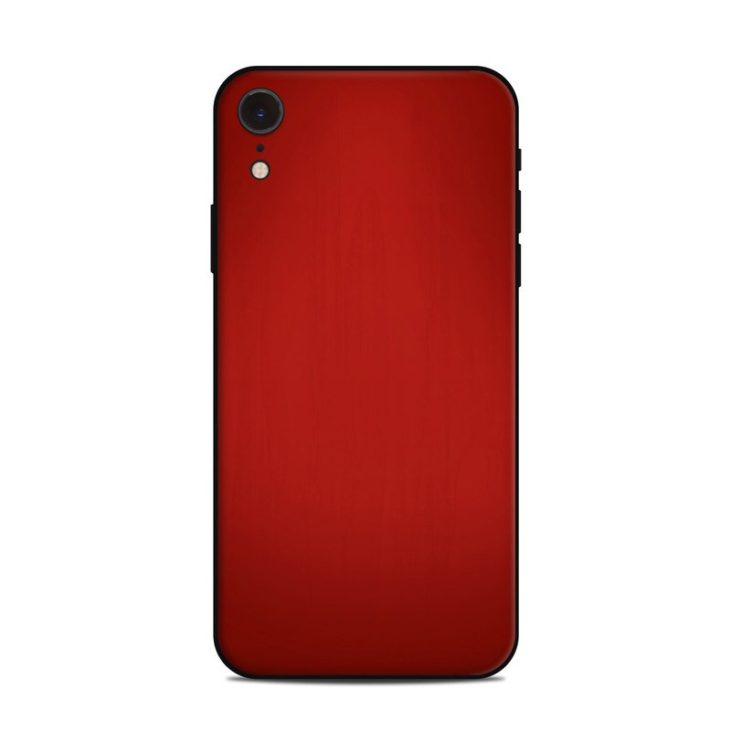 iPhone XR Skin design of Red, Maroon, Orange, Brown, Peach, Pattern, Magenta with red colors