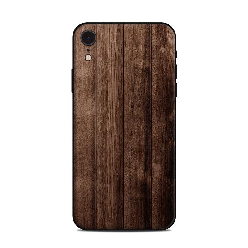 iPhone XR Skin design of Wood, Wood flooring, Hardwood, Wood stain, Plank, Brown, Floor, Line, Flooring, Pattern with brown colors