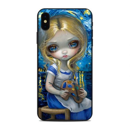 Alice in a Van Gogh iPhone XS Max Skin